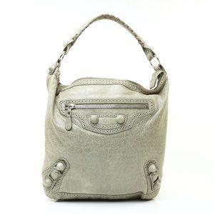 Auth Balenciaga Giant Day Hand Bag #7650B13